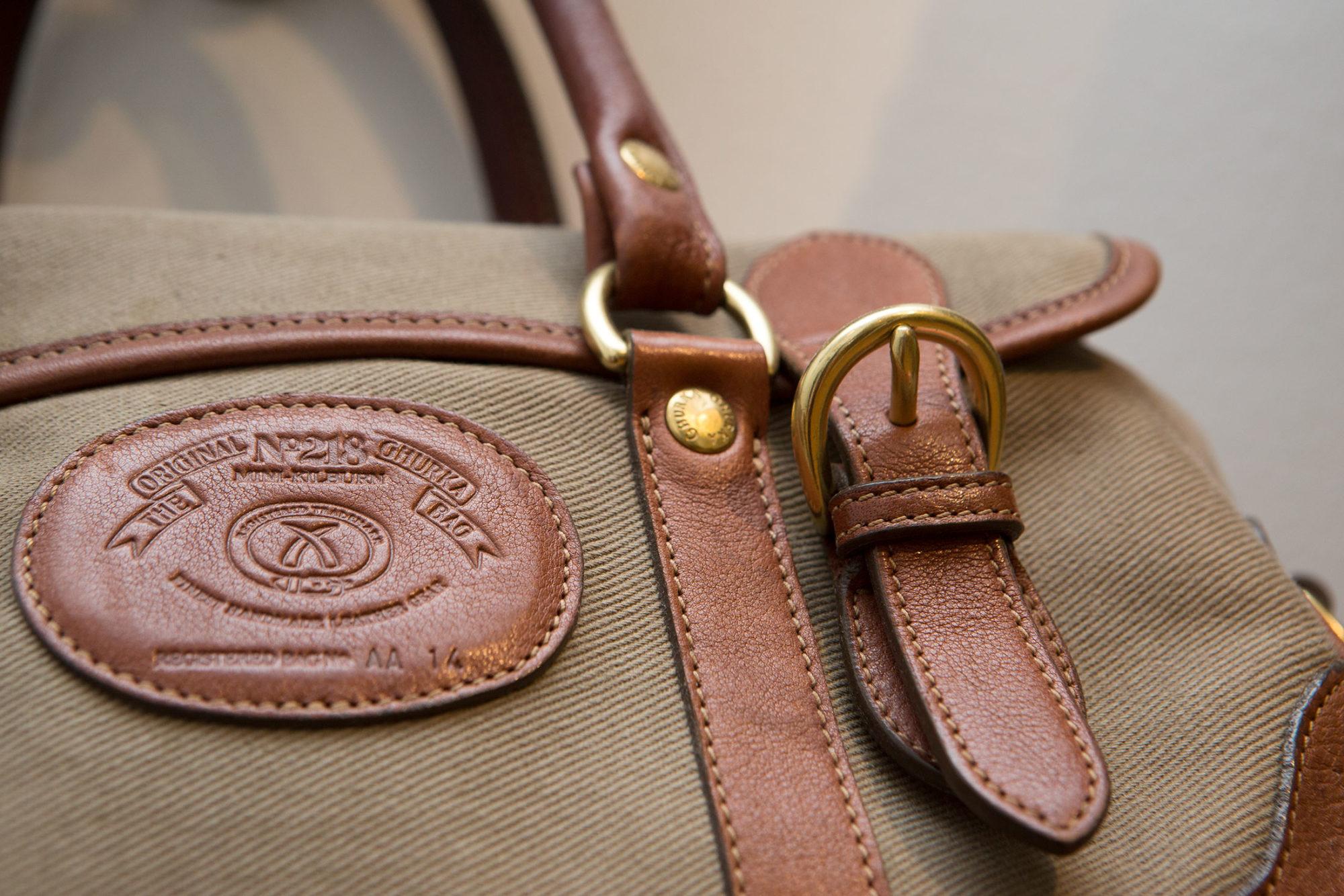 A Vintage Ghurka Bag