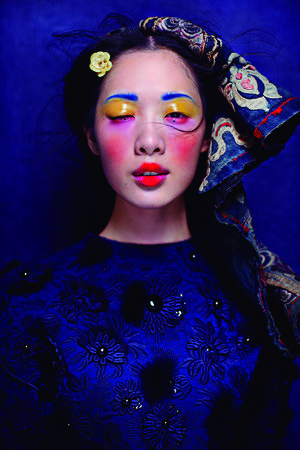 Fashion Photographer Chen Man Goes Pink in the Peninsula