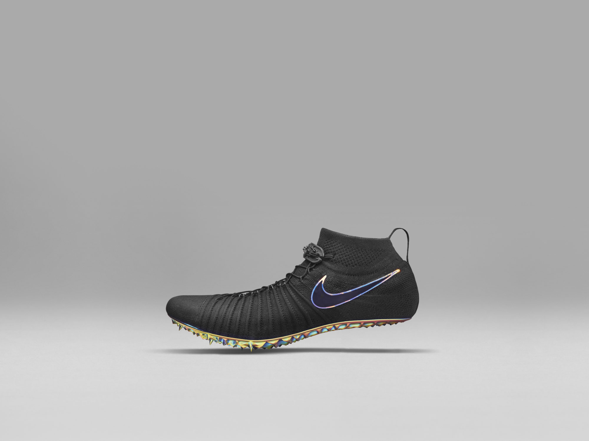 2dd41925ea1c The Nike Zoom Superfly Flyknit sprinting shoe. (Photo  Courtesy Nike) …