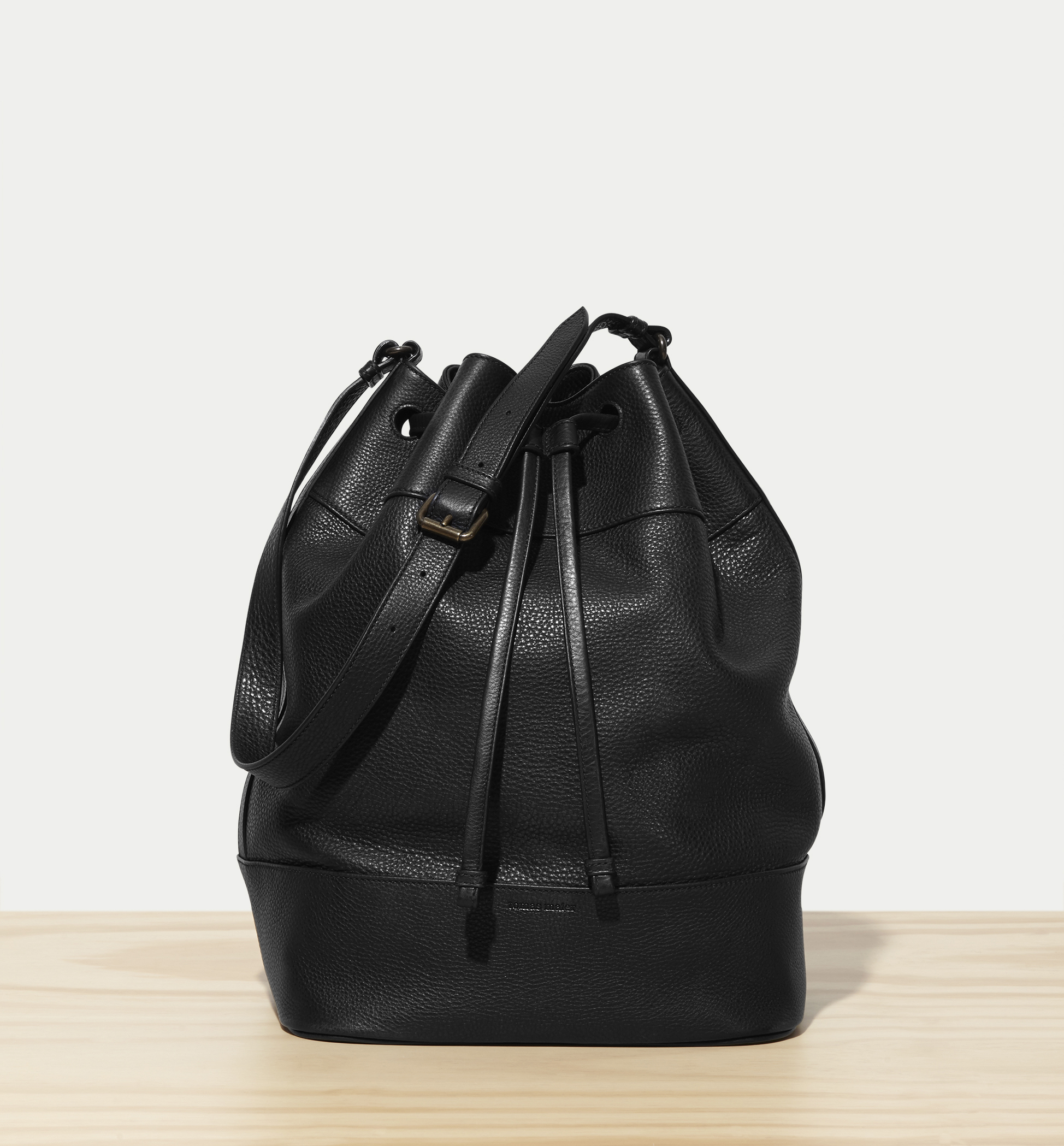 A Tomas Maier leather bucket bag. (Photo  Courtesy Tomas Maier) … 24813a6fb66c2