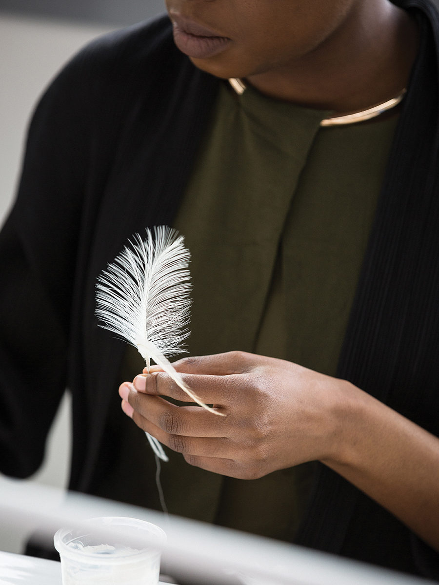 Feather Work