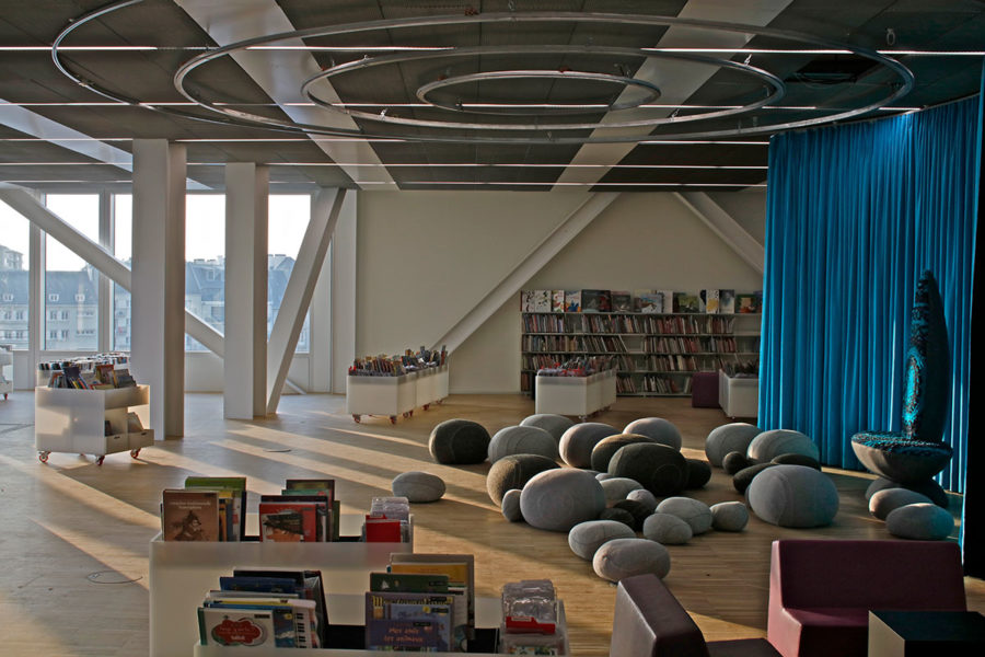 An inside look at the bibliothèque