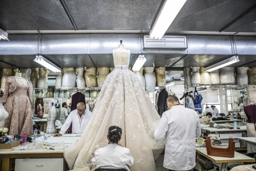 Inside Elie Saab S Atelier In Beirut Surface