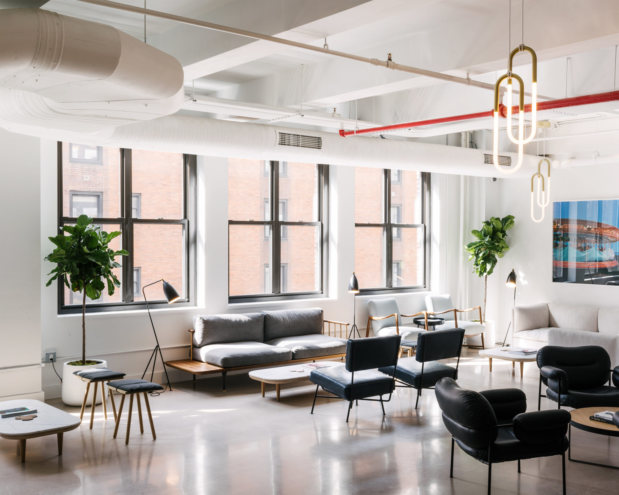 The Dna Of A Boutique Hotel Fills A Manhattan Coworking Space Surface