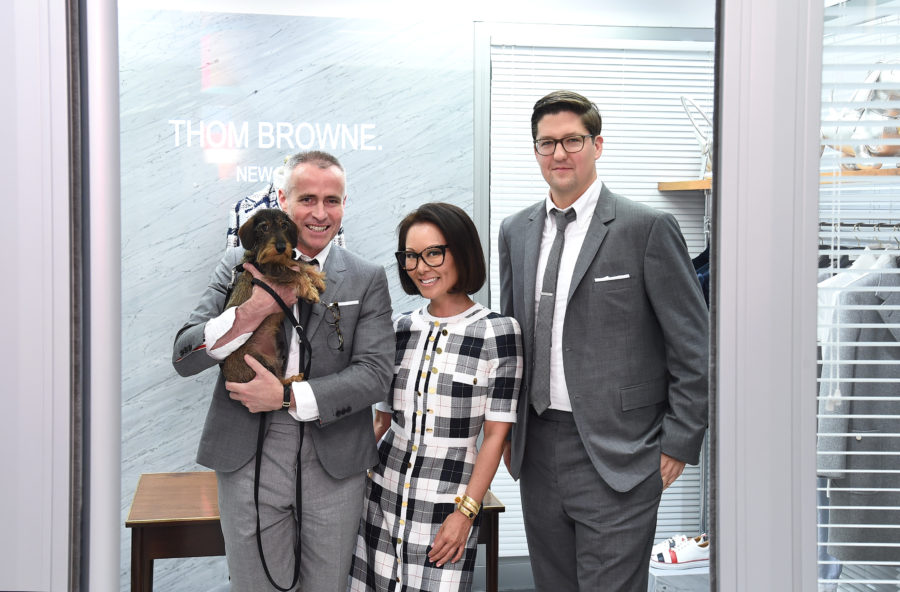 Design Dialogues No. 37 featuring Thom Browne + Alina Cho