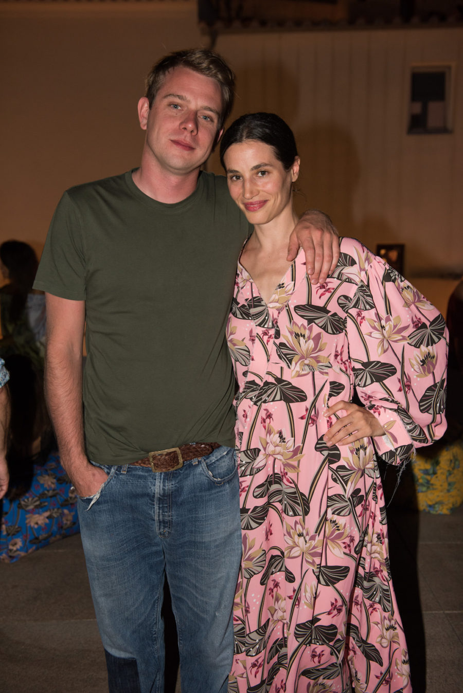 Guests at Loewe's Event in Ibiza