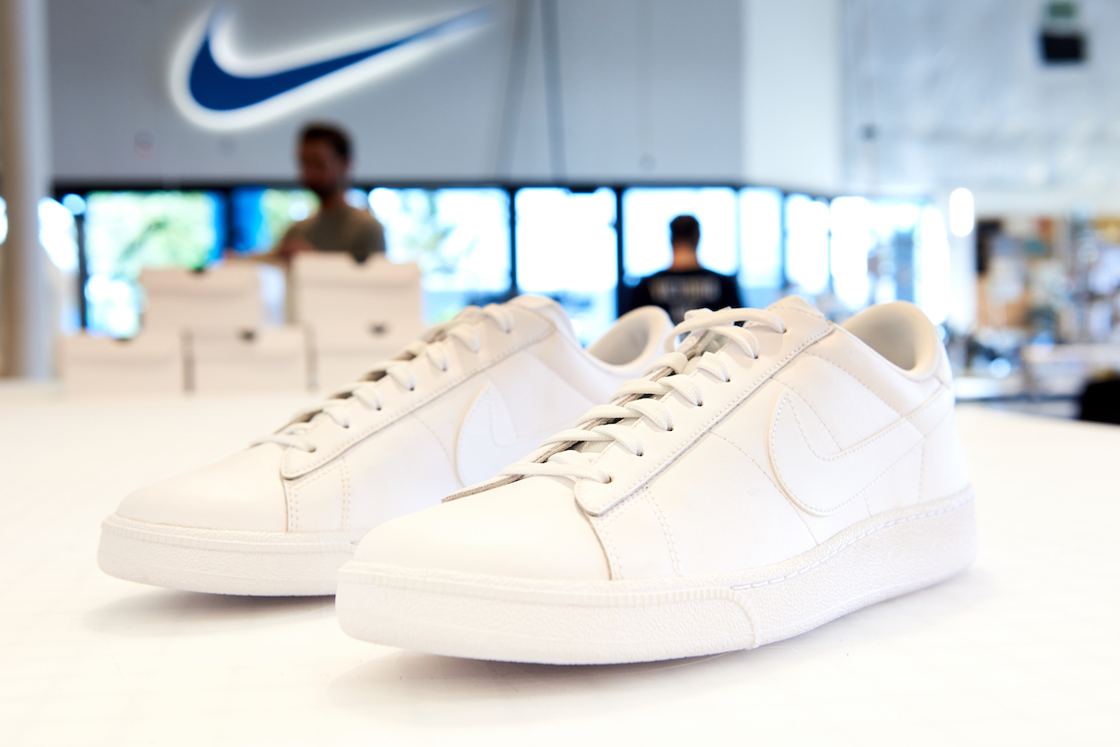 These limited edition Tennis Classics are the first shoes to feature  Flyleather. 163cbf02e