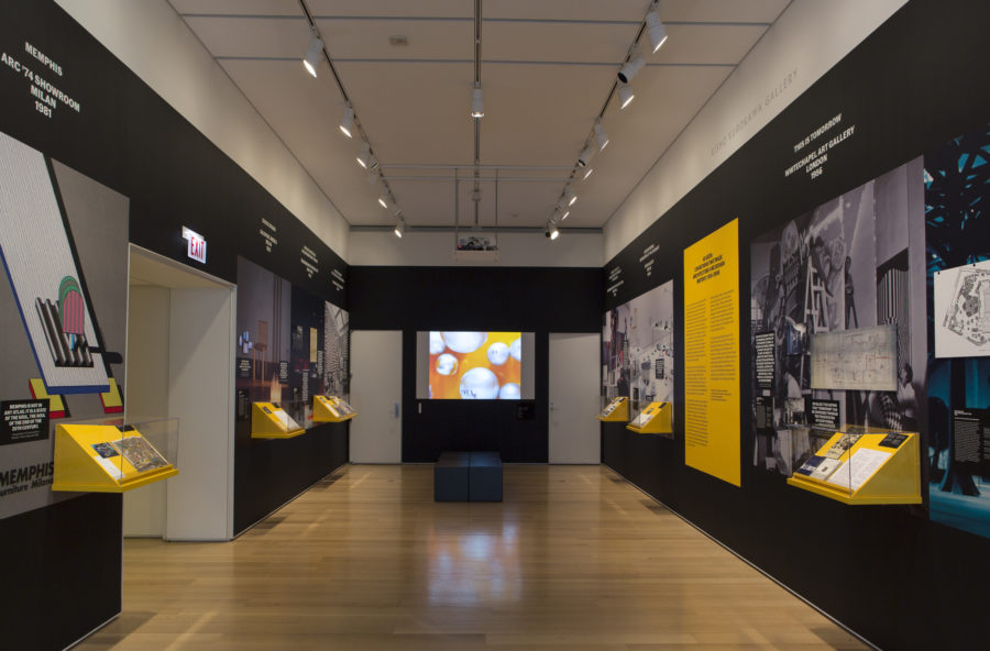 """Installation views of the Art Institute of Chicago's """"As Seen"""" Capsule Exhibition"""