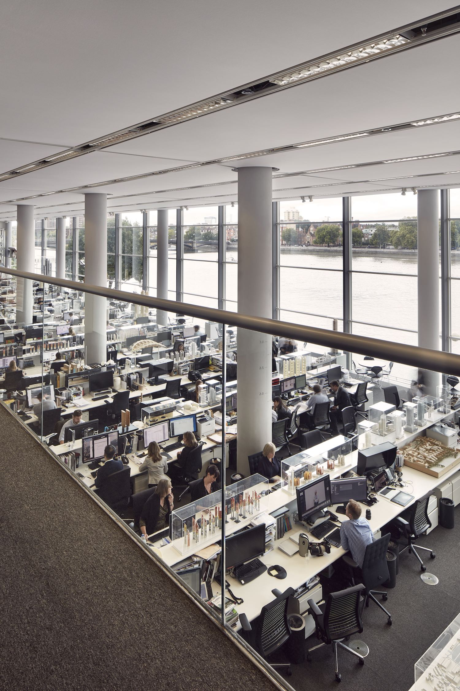 Norman foster office Google Headquarters The Foster Partners Office In London Surface Mag Seeing The Future Why Norman Foster Is The Perfect Architect For