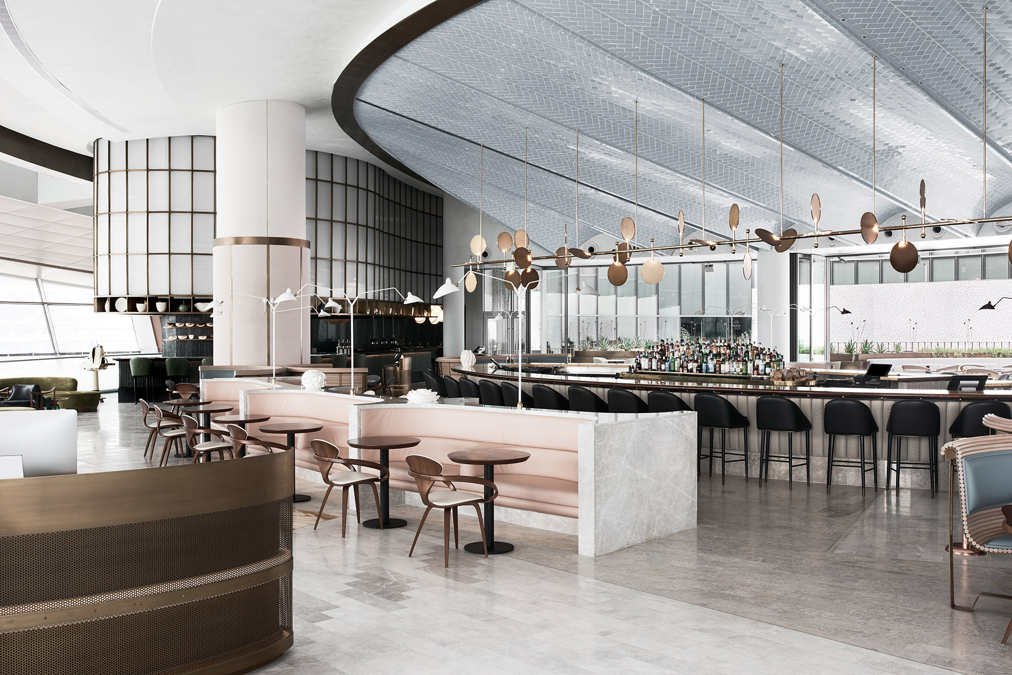A restaurant at dubai opera with down under vibes surface