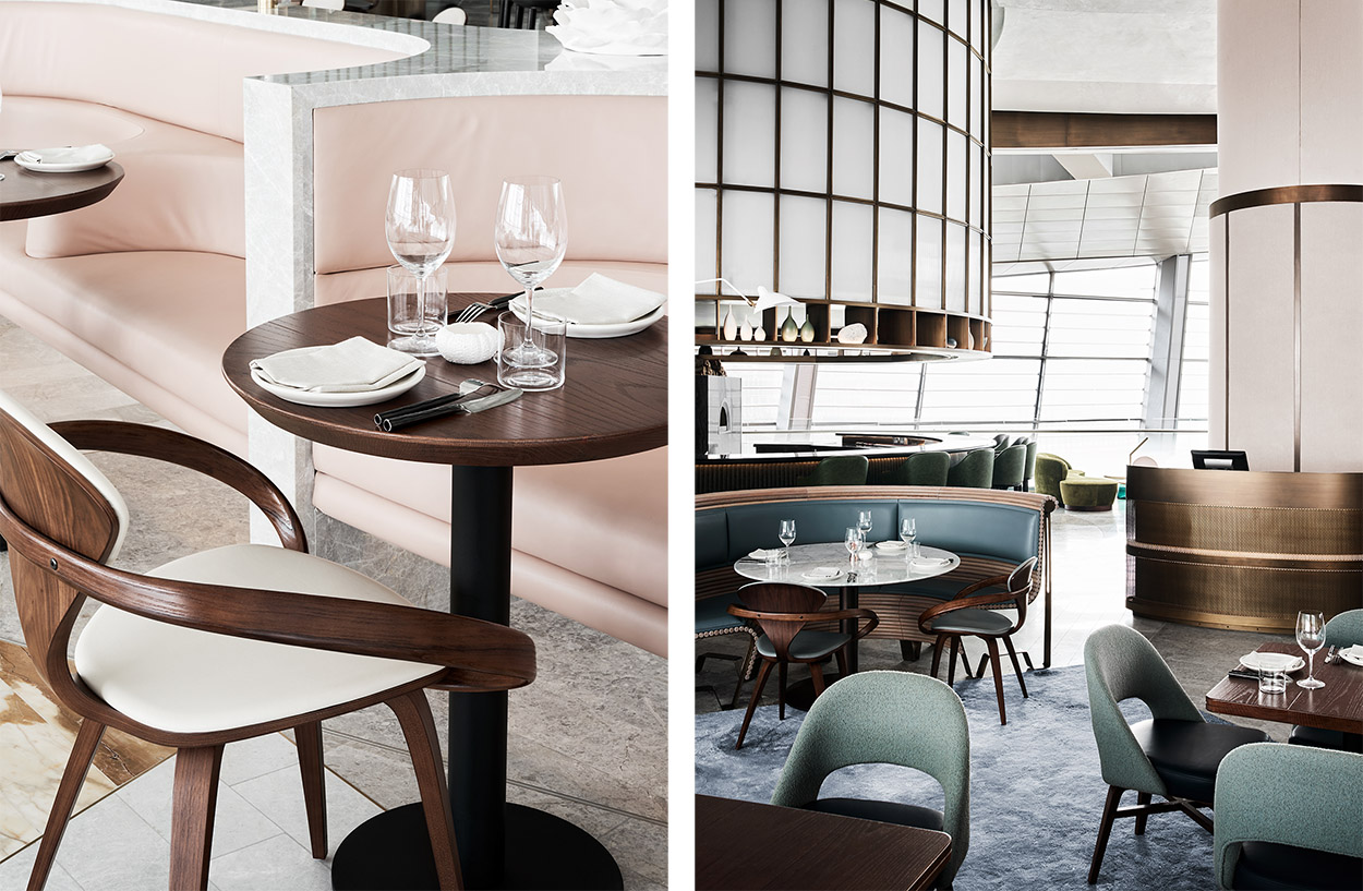 A Restaurant At Dubai Opera With Down Under Vibes