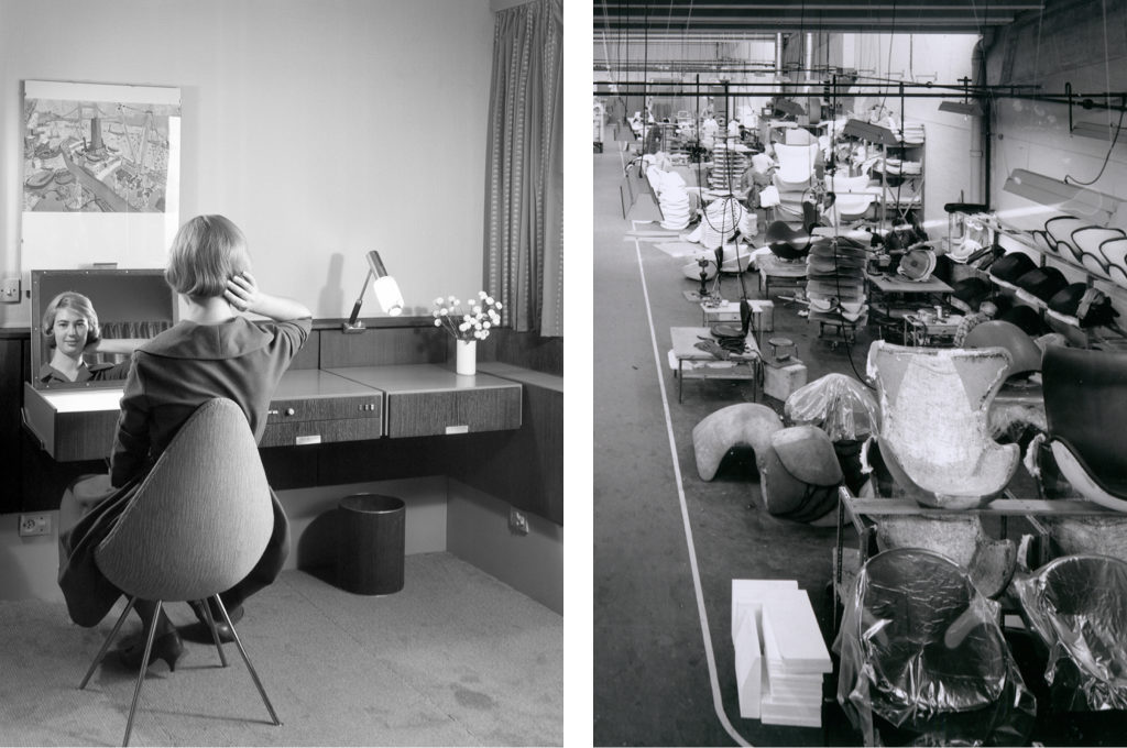 How Arne Jacobsens Egg Swan And Drop Chairs Got Their Curves
