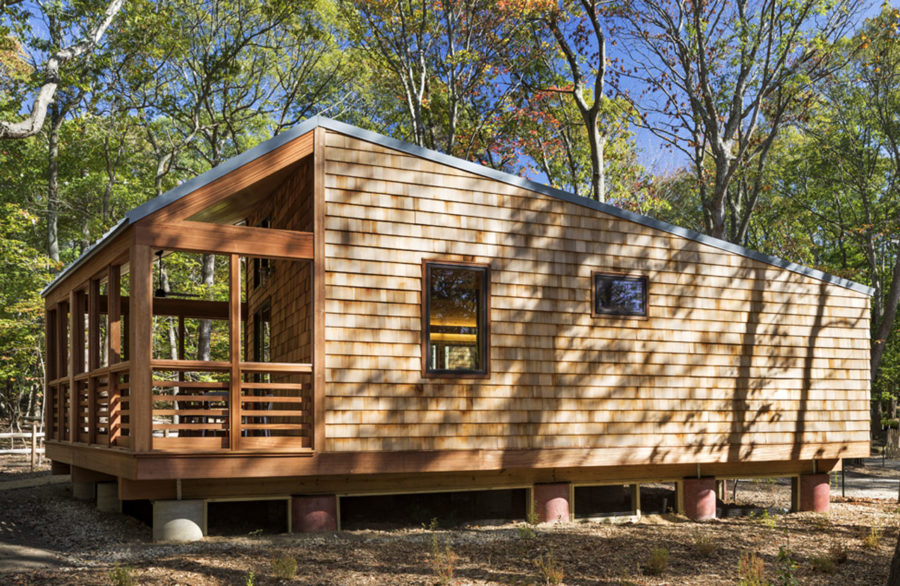 WXY's Cabin Prototype for the New York State Parks Department