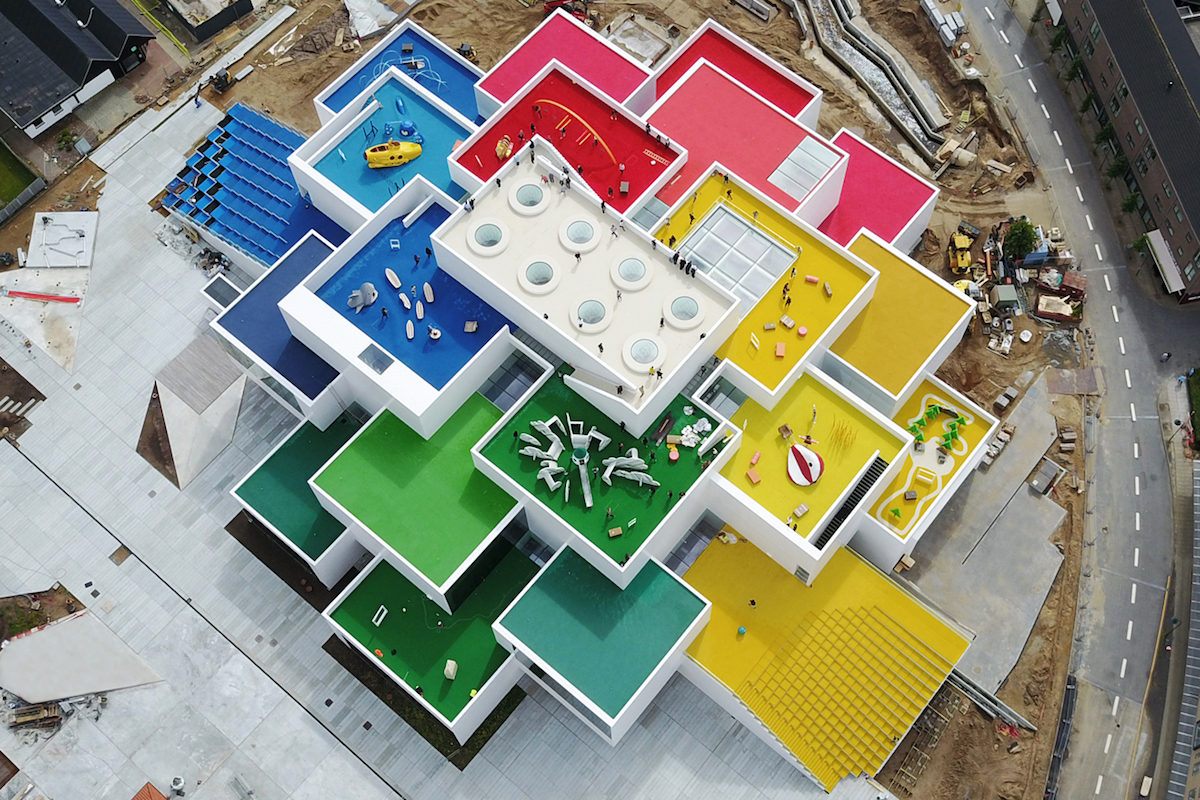 Bjarke Ingels Is Reshaping The World As We Know It Surface Old Out House Fuse Box Short Version Birds Eye View Of Lego In Billund Denmark Photo Kim Christensen