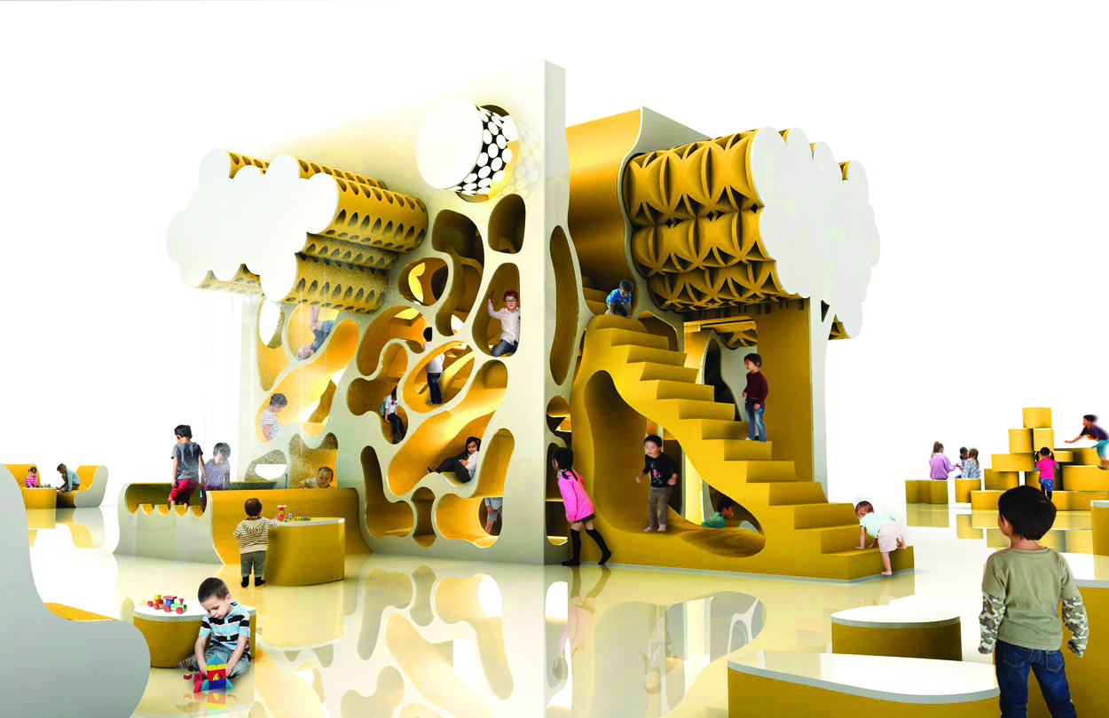 Architects and designers imagine playscapes of the future surface
