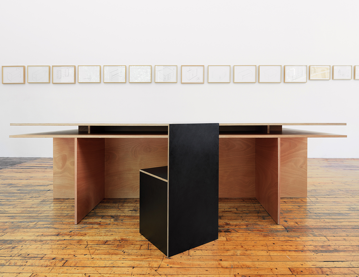 How Designing Objects Like Chair 84 Released In Stock Black Plywood This Spring Allowed The Artist To Synthesize His Sculptural And Theoretical