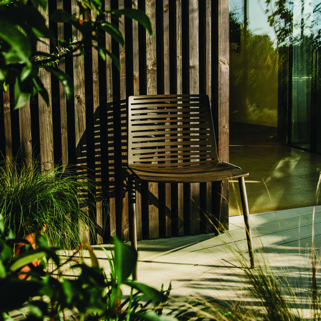 Introducing The Zebra Outdoor Chair From Janus Et Cie