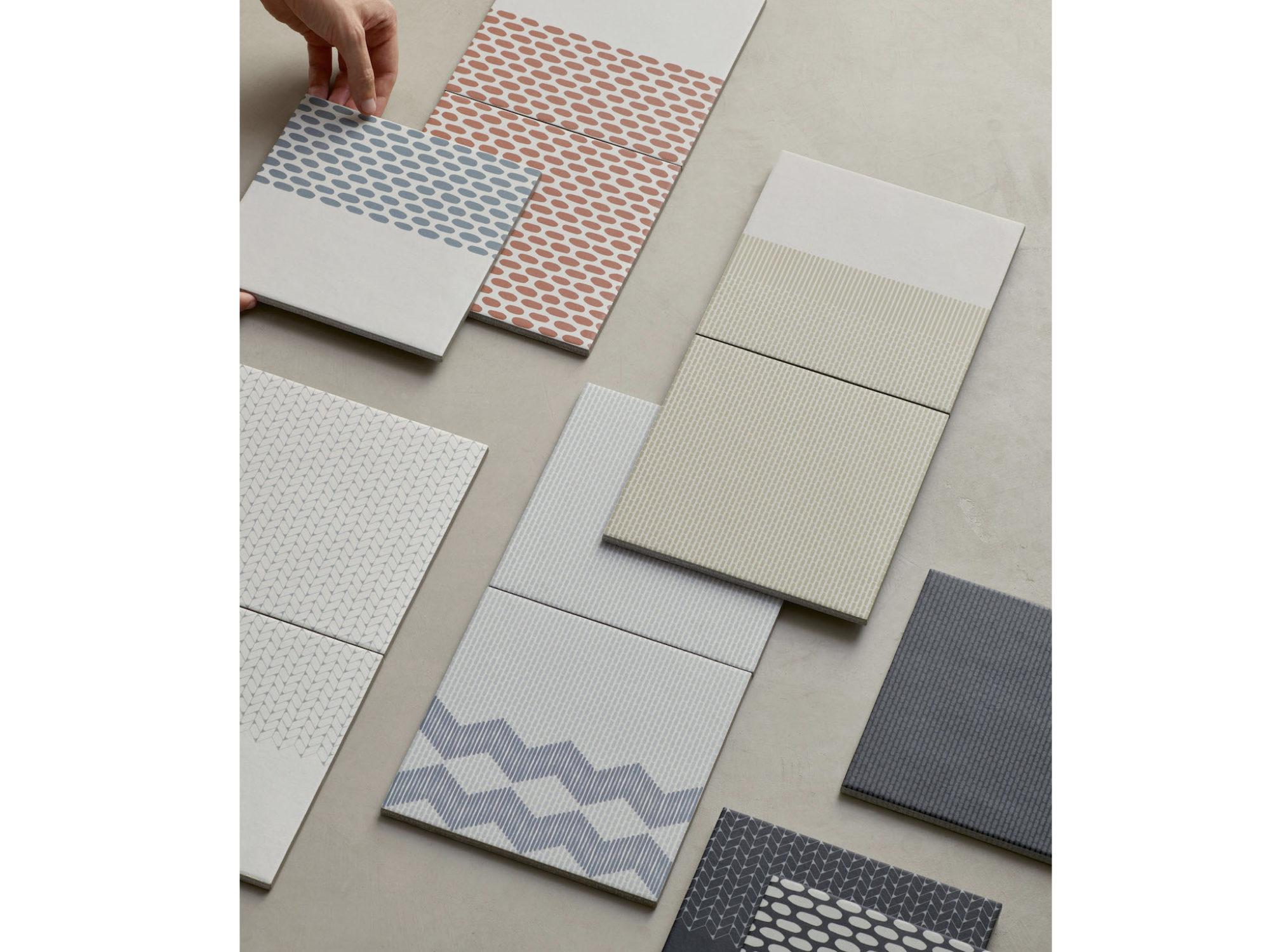 Raw Edges Designed Tape, a Line of Glazed Porcelain Tile