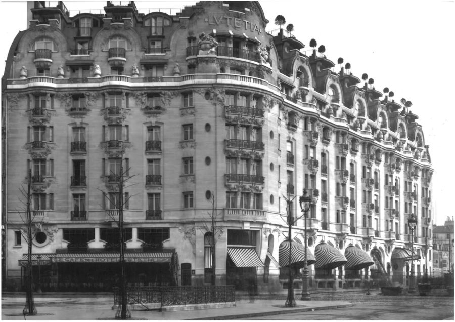 Historical Photos of the Hotel Lutetia