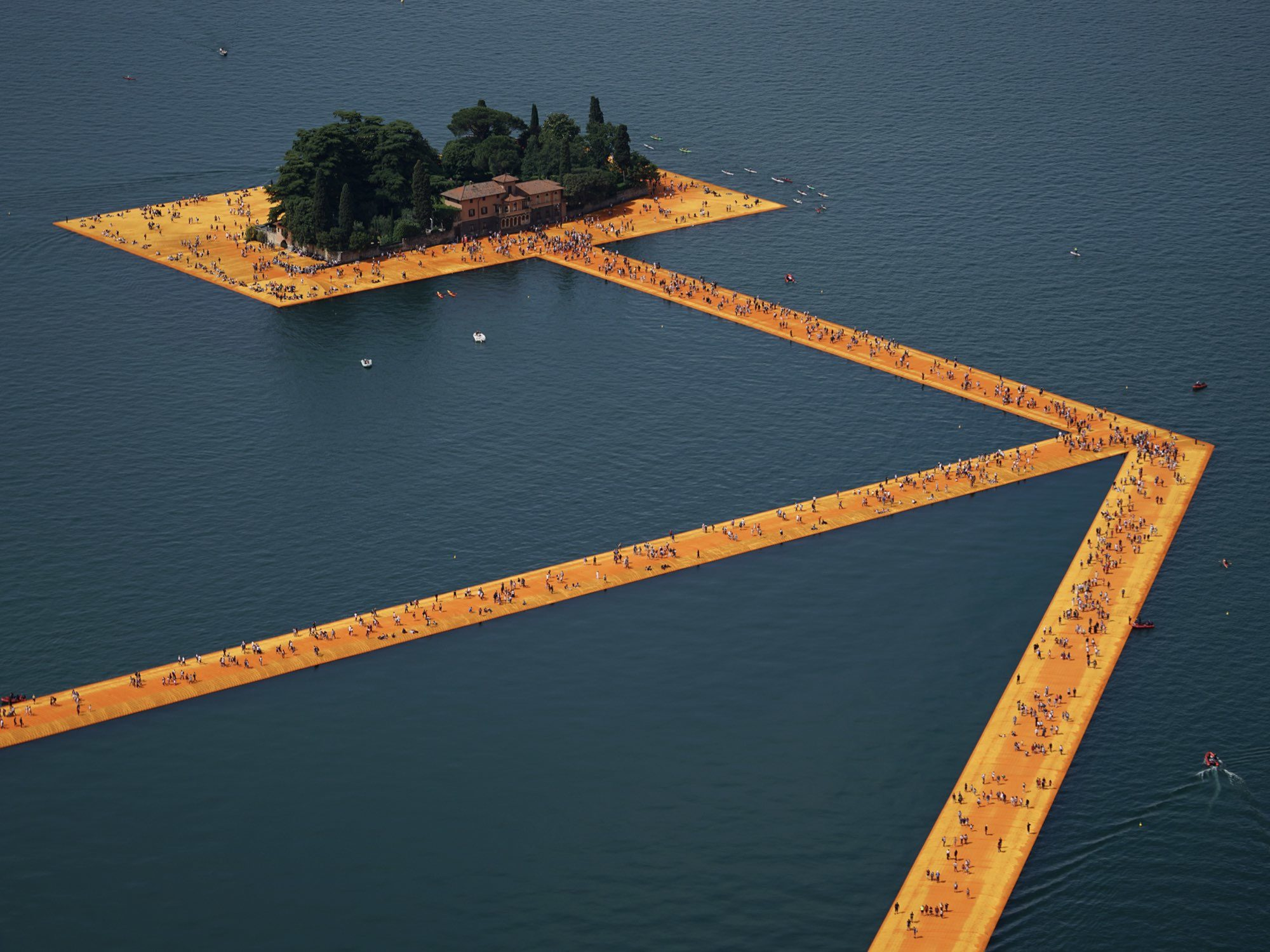 Christo Cover Surface Magazine Environmental Artist