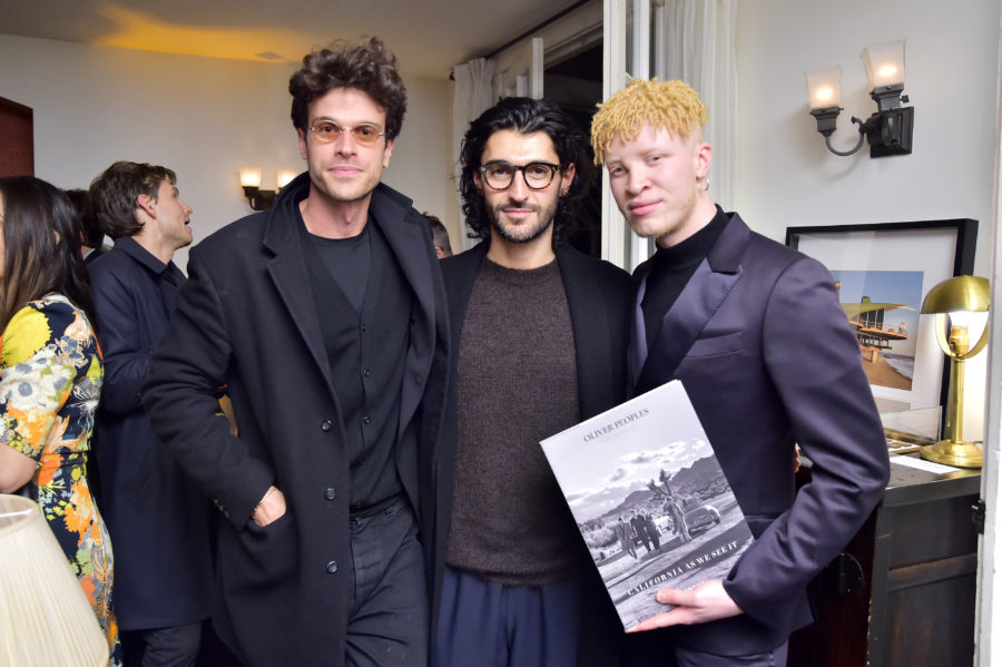Oliver Peoples and Assouline