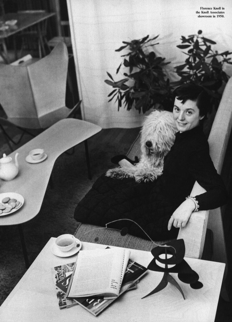Florence Knoll Turned Interior Design into a Profession – SURFACE