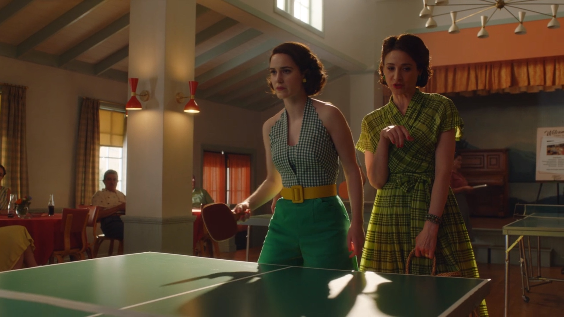 Image result for marvelous mrs. maisel ping pong