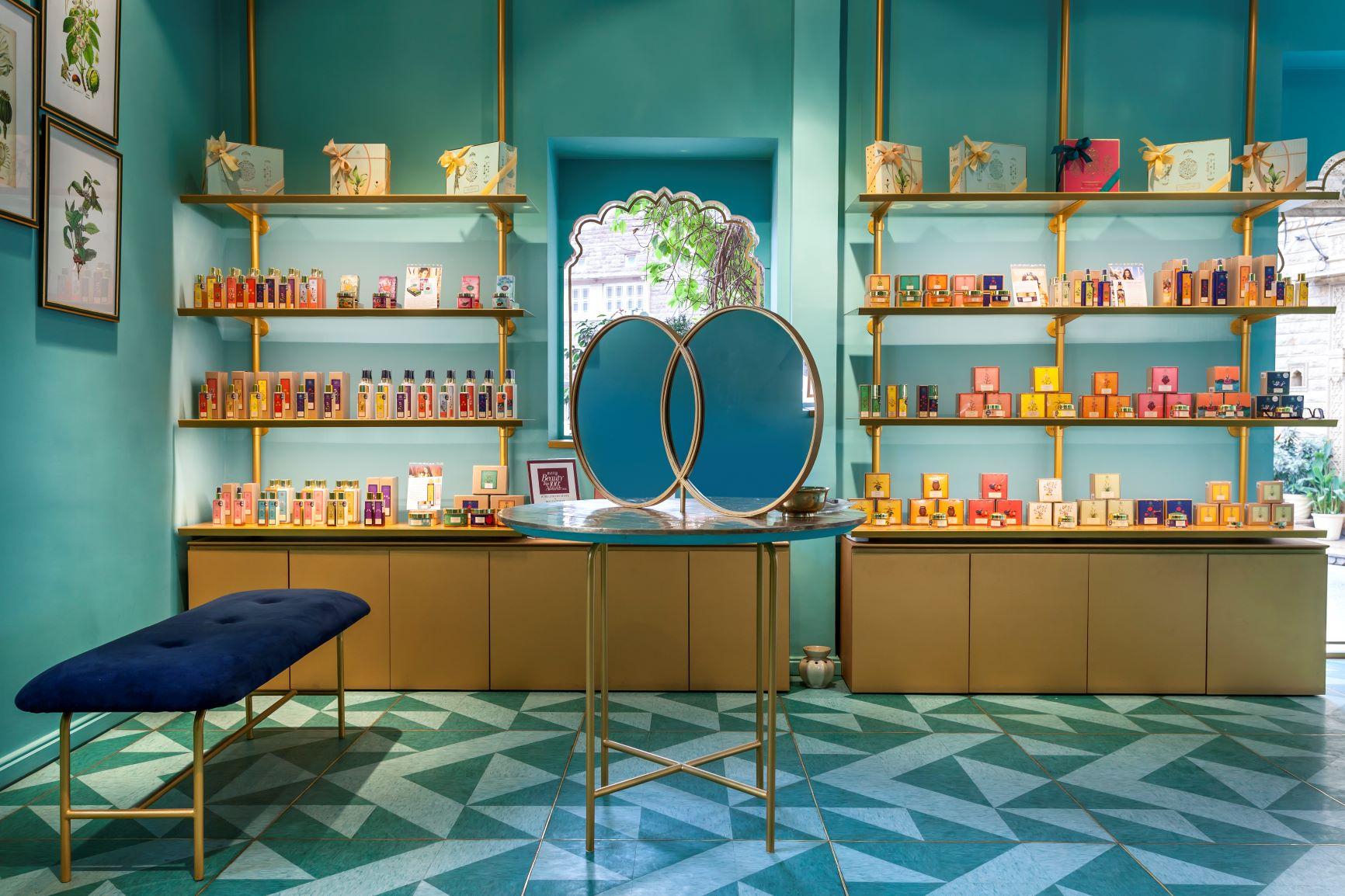 An Indian Beauty Brand Unveils An Art Decoinspired Home In