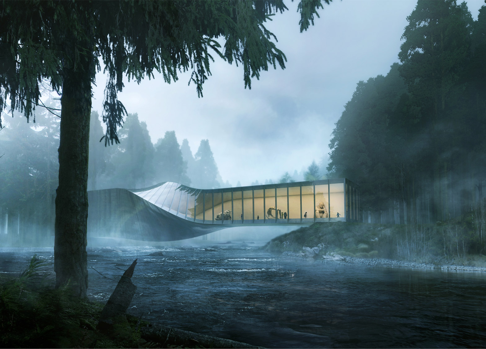 Bjarke Ingels Bridges Art and Nature with a New Exhibition Space - SURFACE