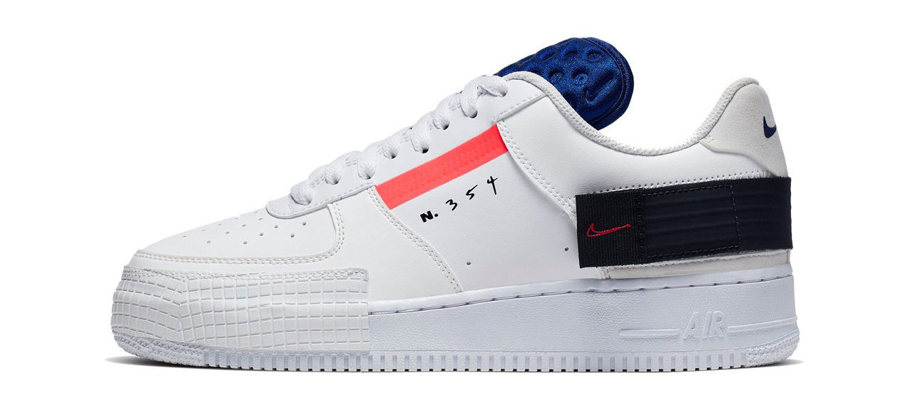 uk availability c750f 777ad Nike N. 354 AF1-Type Low Summit Whites Release Date and ...