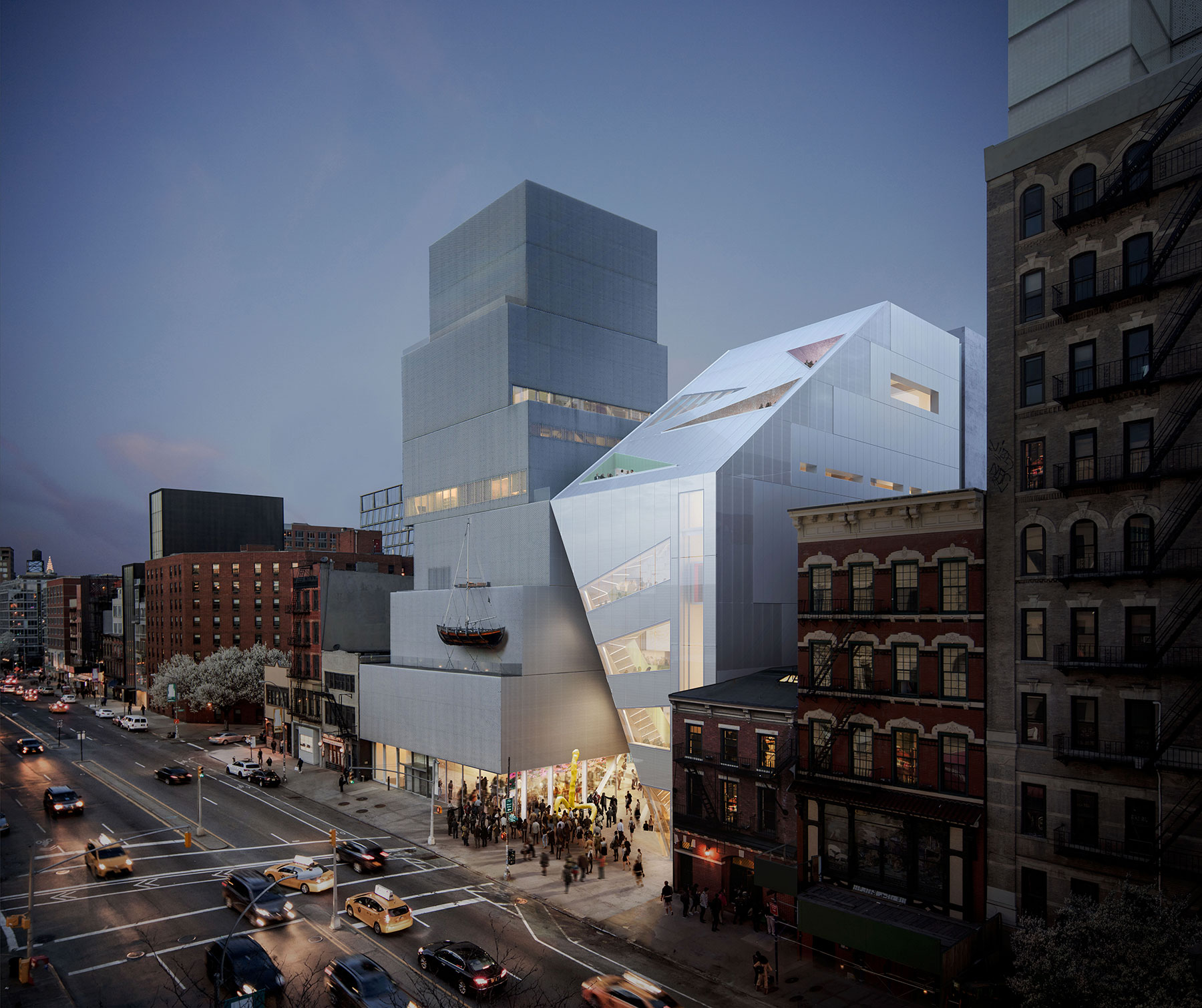 OMA New Museum Expansion – SURFACE
