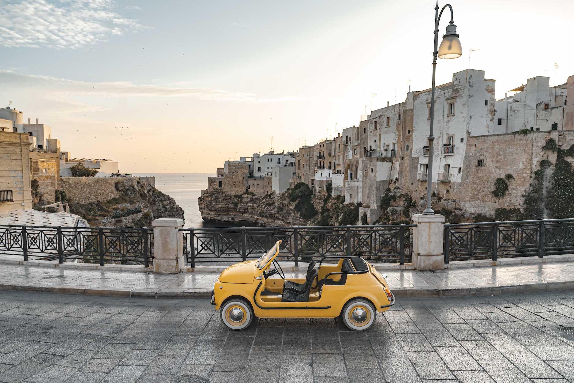 Hertz Italy Takes Garage Italia S Fiat 500 Icon E For A Ride