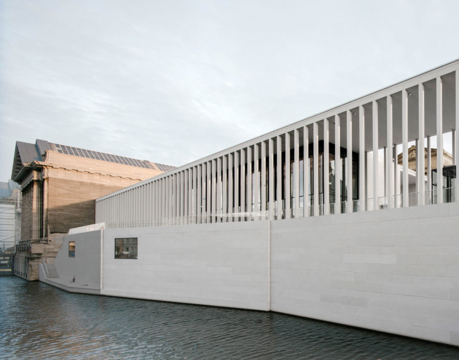 The James Simon Gallery on Berlin's Museum Island