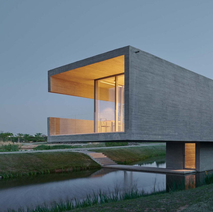 TAO - Trace Architecture Office's Swan Lake Bridge House – SURFACE