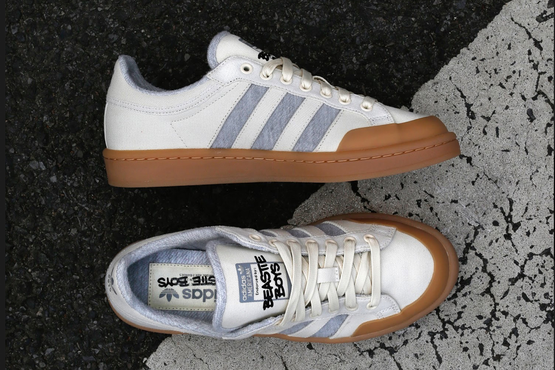 Adidas Skateboarding Commemorates the Beastie Boys with a