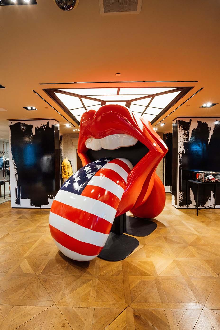The Rolling Stones Headline Bergdorf Goodman – SURFACE