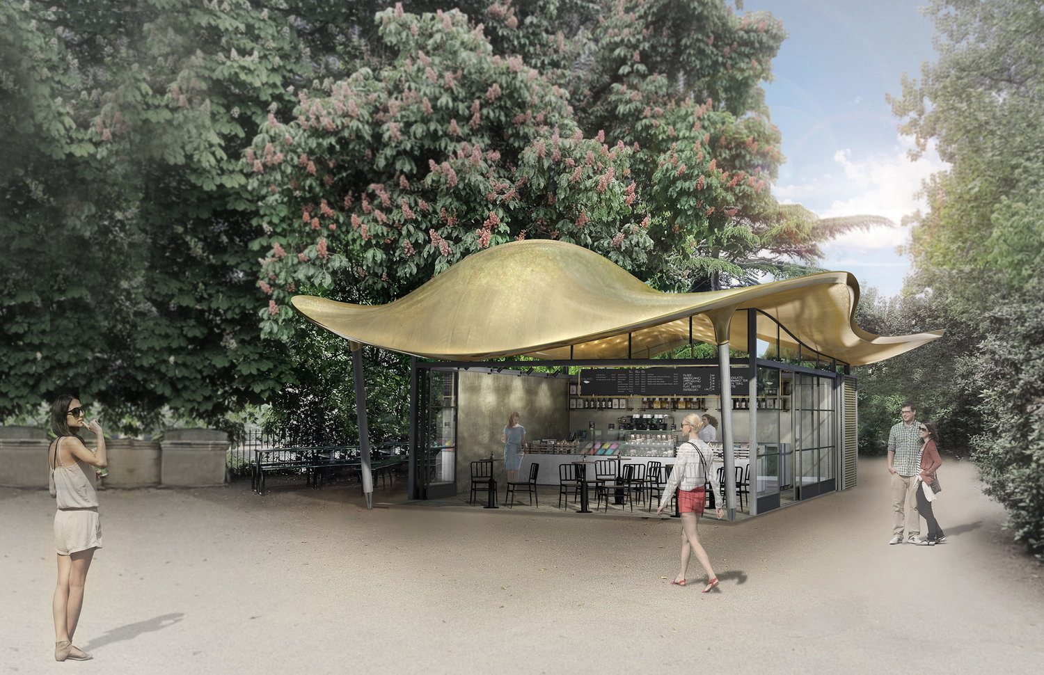 The Serpentine Coffee House Slithers Into Hyde Park – SURFACE