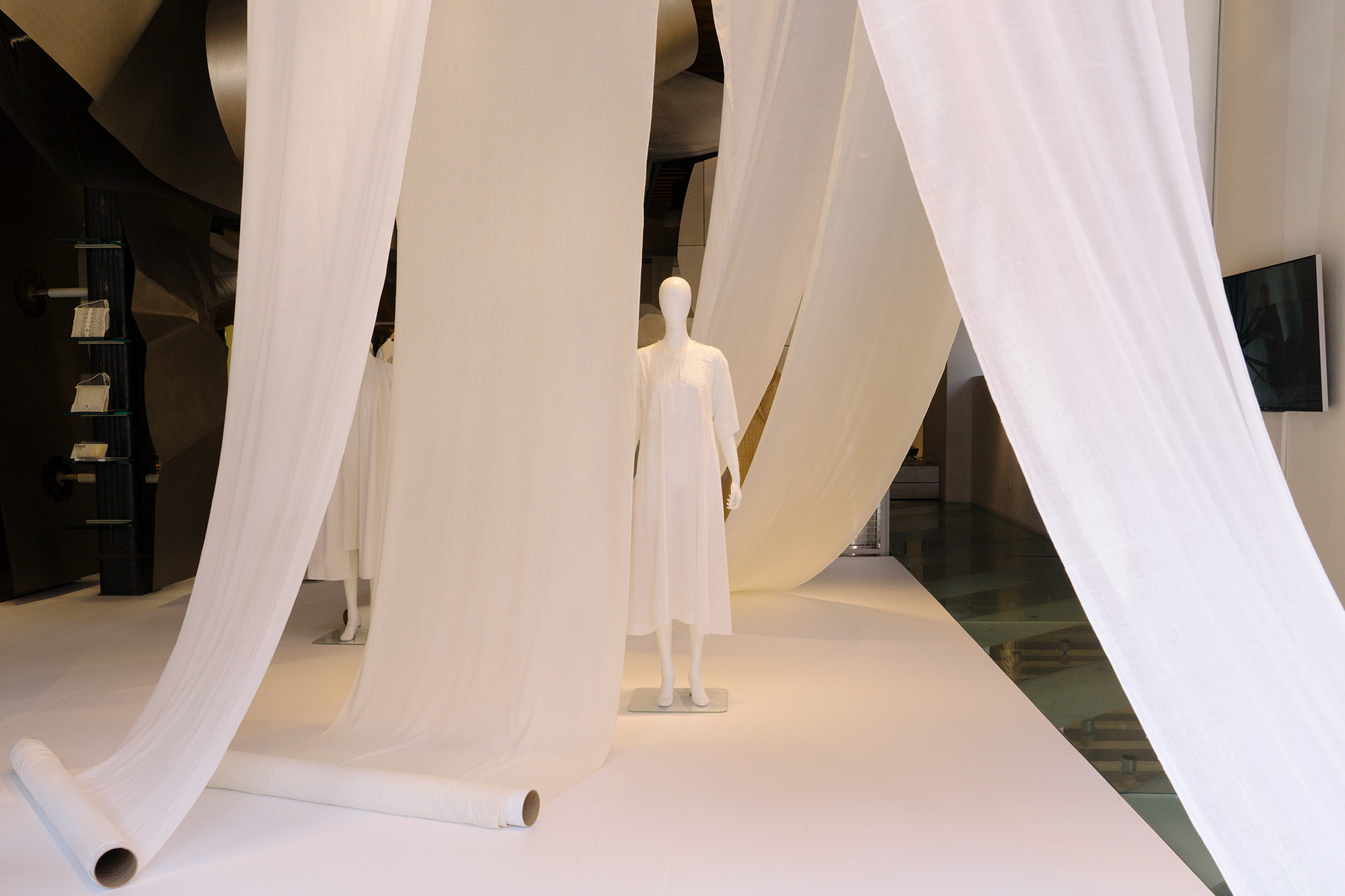 Issey Miyake Rolls Out A New Exhibition On Khadi Fabric Surface