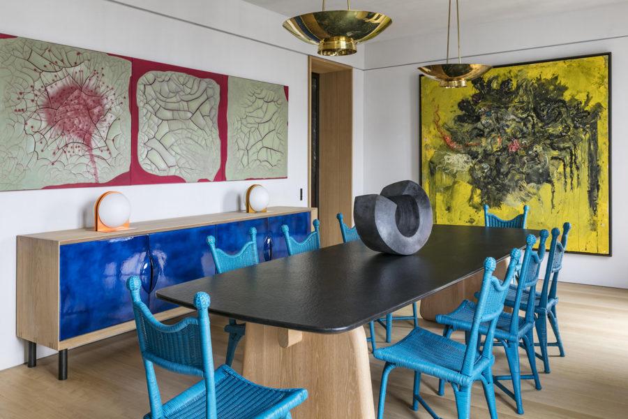 Paris apartment by Pierre Yovanovitch