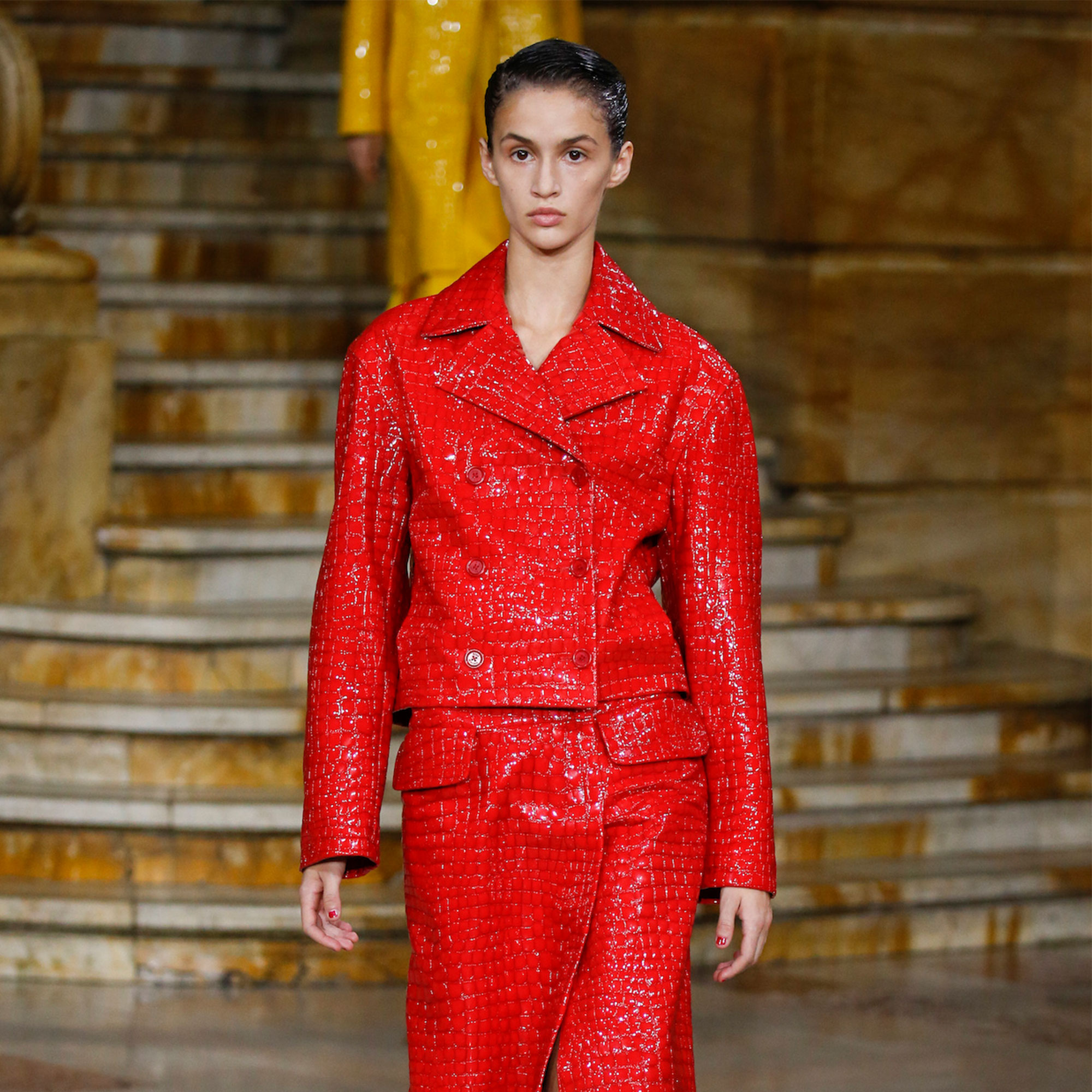 Sies Marjan Releases a 'Croc' of Vibrant Colors at NYFW – SURFACE