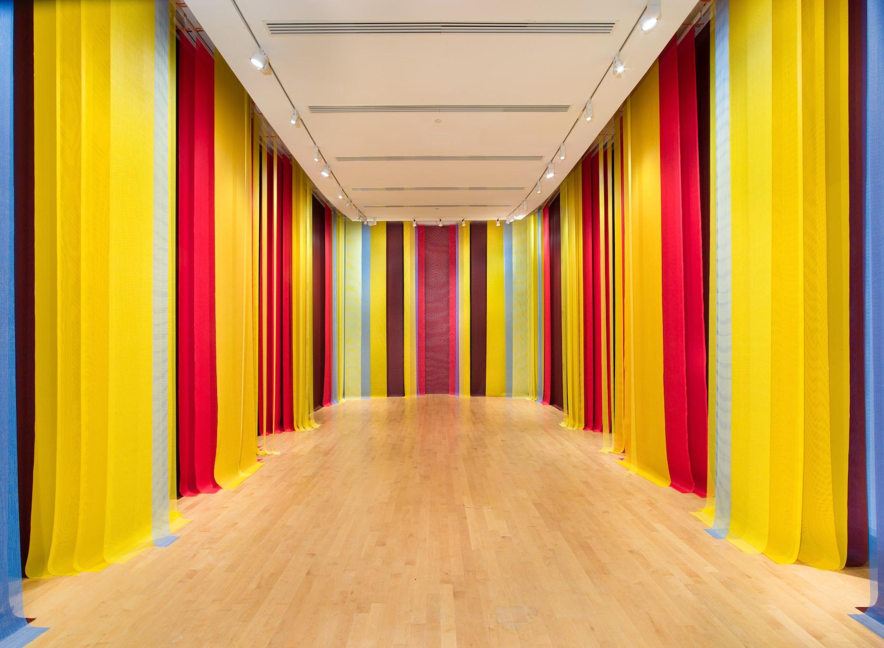 Eva LeWitt: Untitled (Mesh A–J) – SURFACE