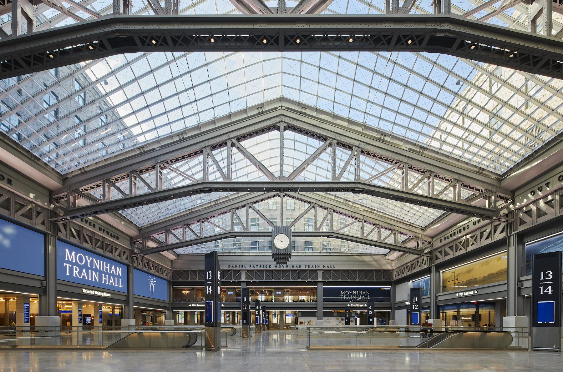 Inside New York's Long-Awaited Moynihan Train Hall – SURFACE