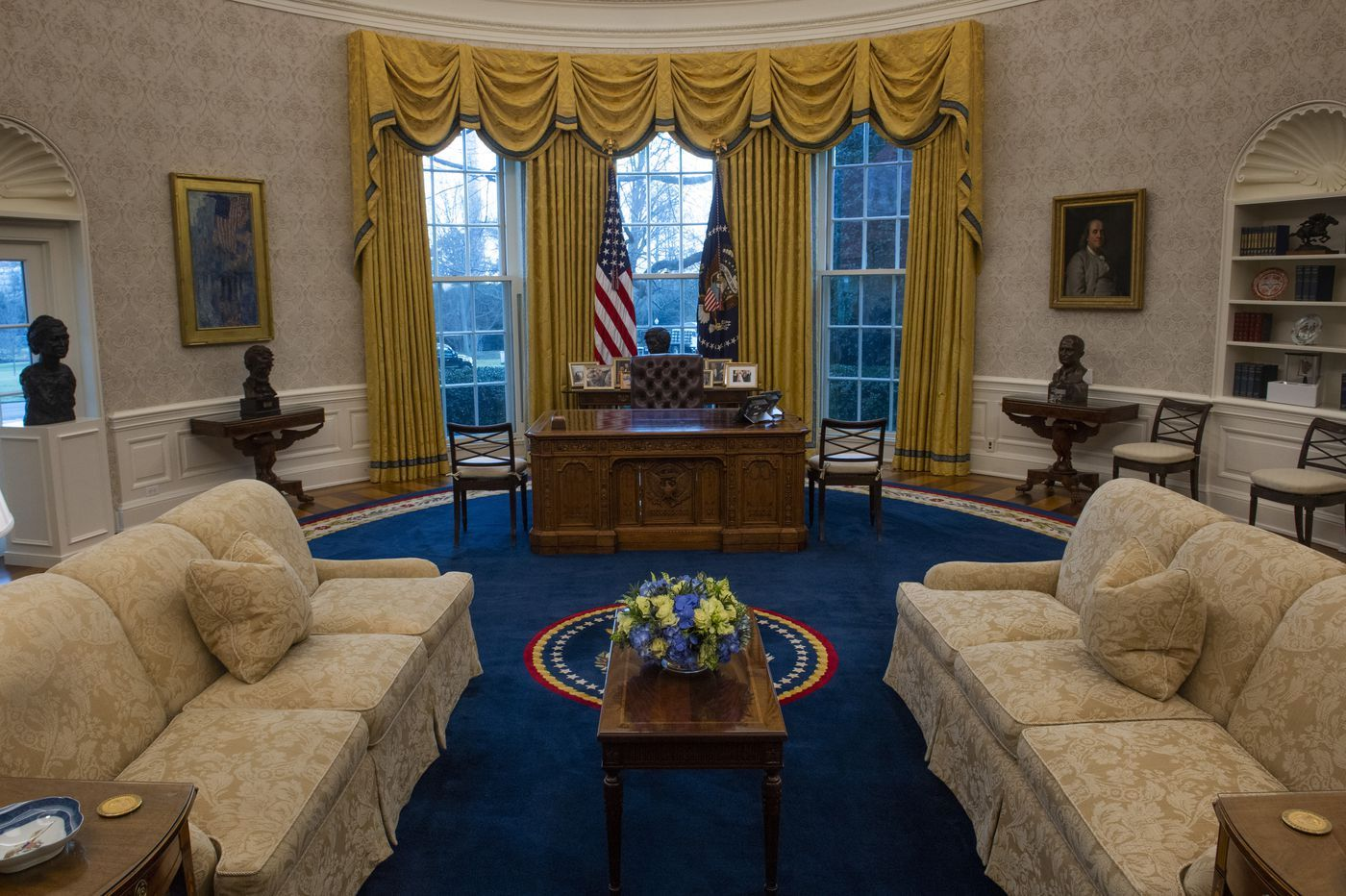 Joe Biden Is Already Redesigning the Oval Office – SURFACE