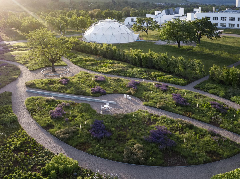 Piet Oudolf's Gardens at the Vitra Campus